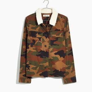 Madewell Jackets & Coats - Madewell Northward Cropped Army Jacket